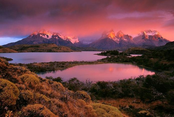 Національний парк Торрес дель Пейн в Патагонії (5)