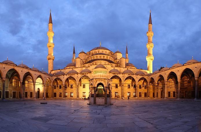 Блакитна мечеть Стамбула (4)