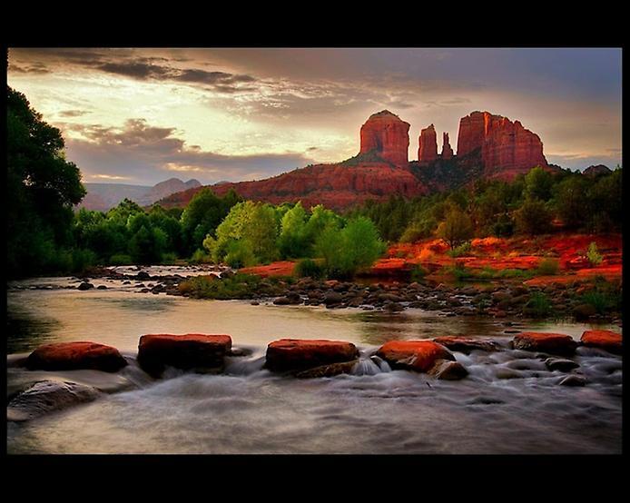 Червоні скелі Седона в Арізоні (5)