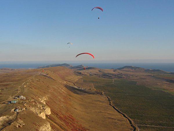 Гора Клементьєва та Центр планерного спорту (1)