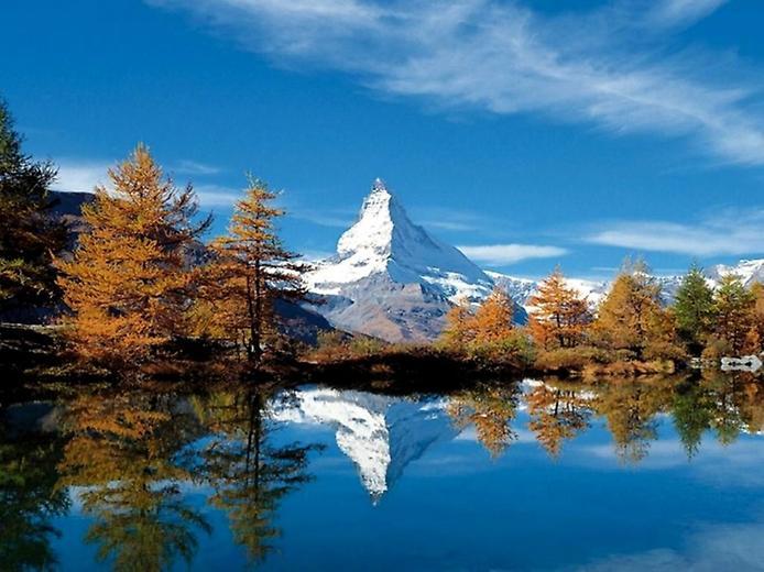 Гора Маттерхорн у Швейцарії (3)