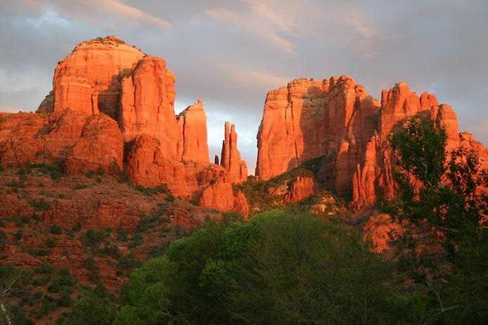 Червоні скелі Седона в Арізоні (4)