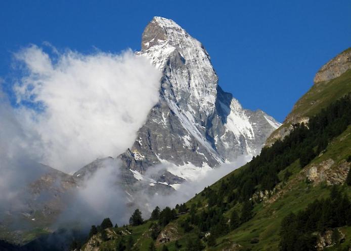 Гора Маттерхорн у Швейцарії (2)