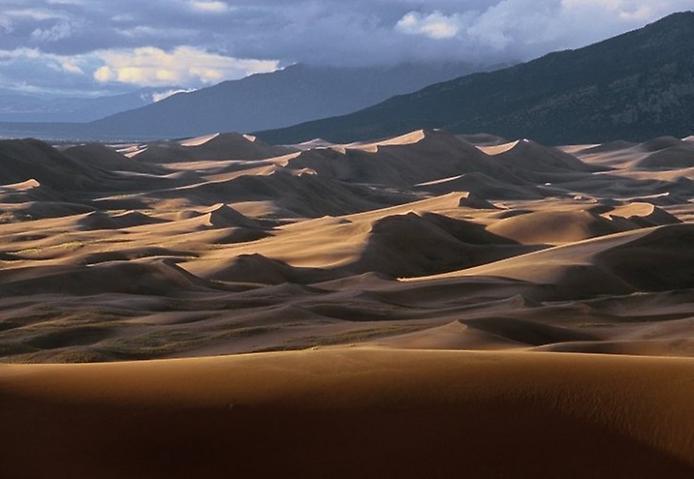 Великі Піщані дюни. Національний парк в Колорадо (5)