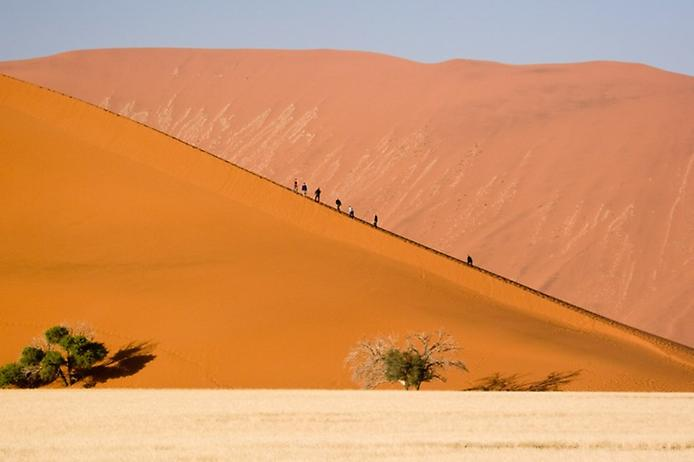Плато Соссусфлей в пустелі Наміб (4)