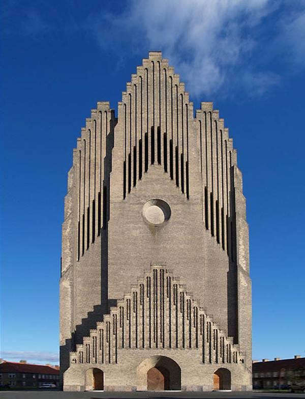 Церква Грюндтвіг в Копенгагені, Данія