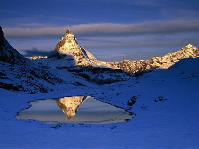 Гора Маттерхорн у Швейцарії (1)