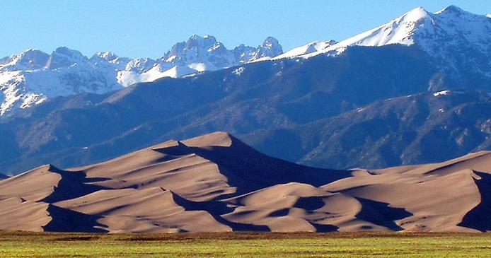 Великі Піщані дюни. Національний парк в Колорадо (6)