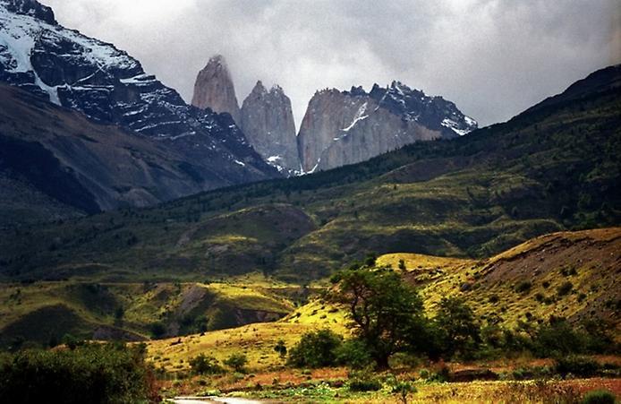Національний парк Торрес дель Пейн в Патагонії (8)