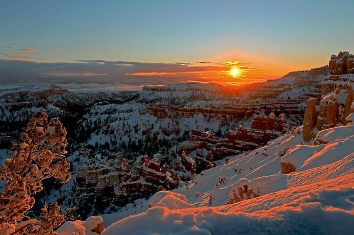 Брайс-Каньйон в Юті (1)