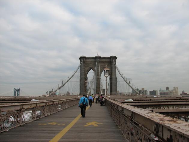 Бруклінський міст - один із символів Нью-Йорка (10)