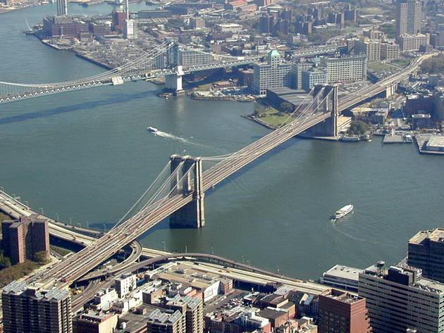 Бруклінський міст - один із символів Нью-Йорка (16)