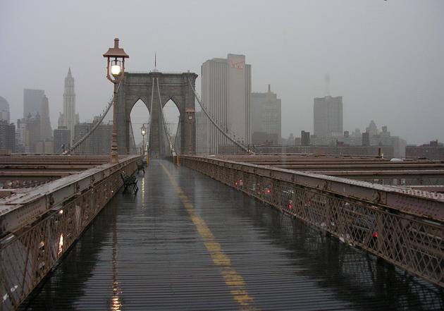 Бруклінський міст - один із символів Нью-Йорка (6)