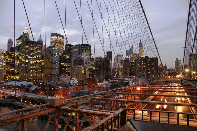 Бруклінський міст - один із символів Нью-Йорка (5)