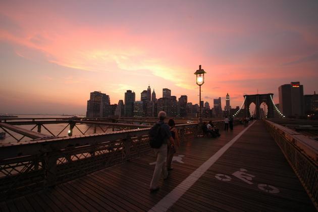 Бруклінський міст - один із символів Нью-Йорка (4)
