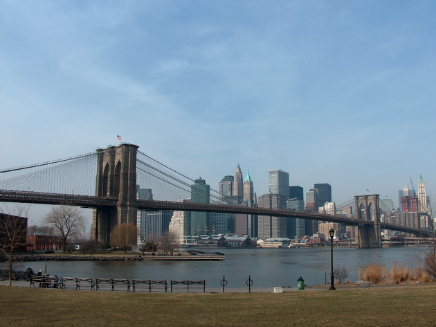 Бруклінський міст - один із символів Нью-Йорка (14)