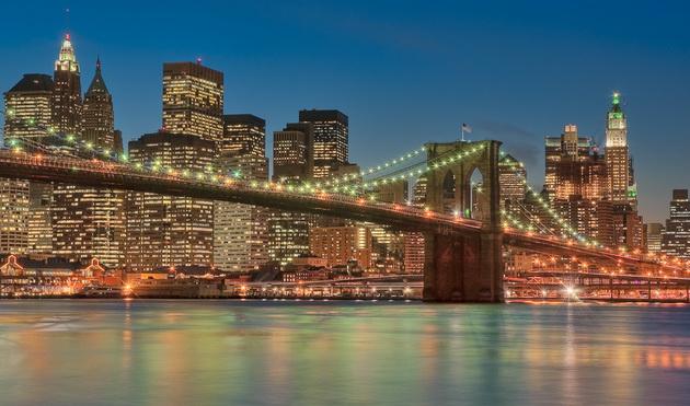 Бруклінський міст - один із символів Нью-Йорка (1)