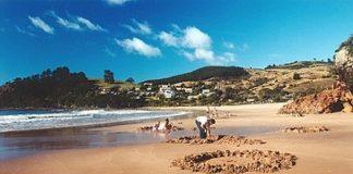 Природний спа-відпочинок: дивовижний пляж Hot Water Beach в Новій Зеландії! (3)