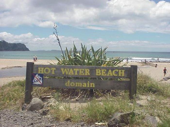 Природний спа-відпочинок: дивовижний пляж Hot Water Beach в Новій Зеландії! (2)