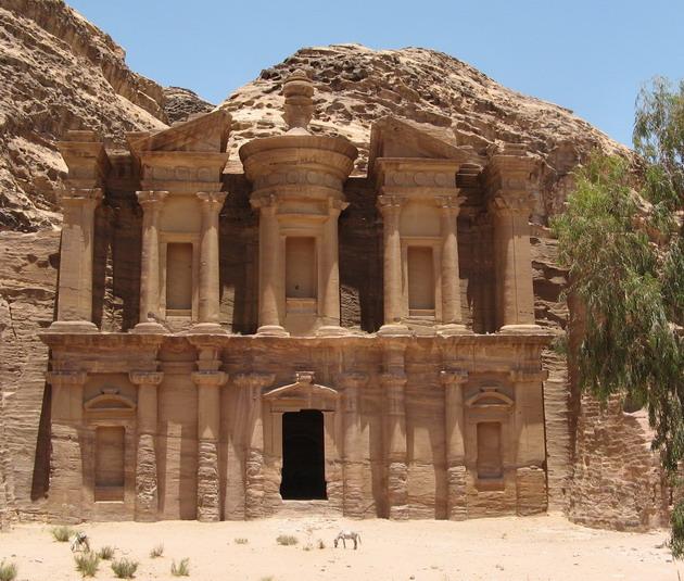 Петра - архітектурне диво Йорданії (5)
