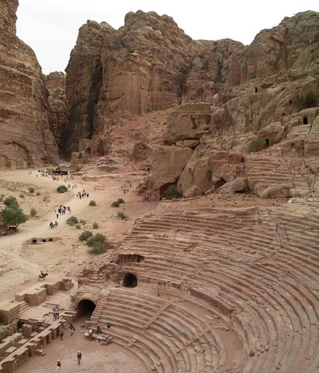 Петра - архітектурне диво Йорданії (9)