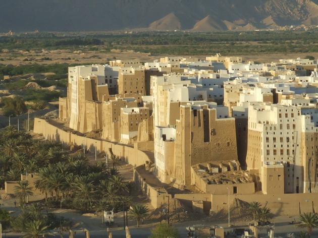 Місто Шибам, найдавніше місто хмарочосів, Ємен (2)