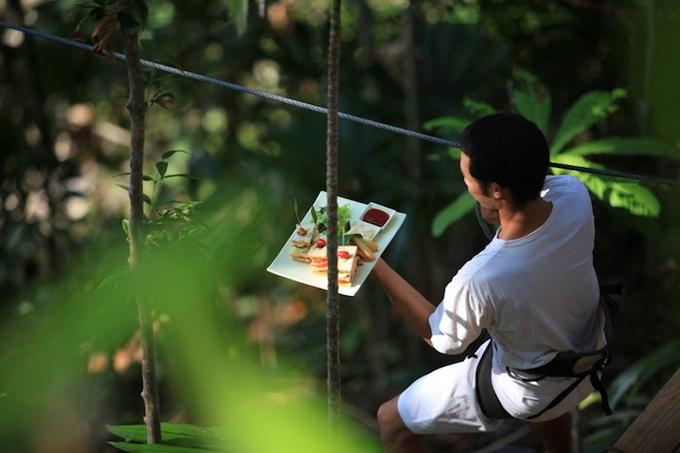 Ресторан на деревах в Таїланді (3)