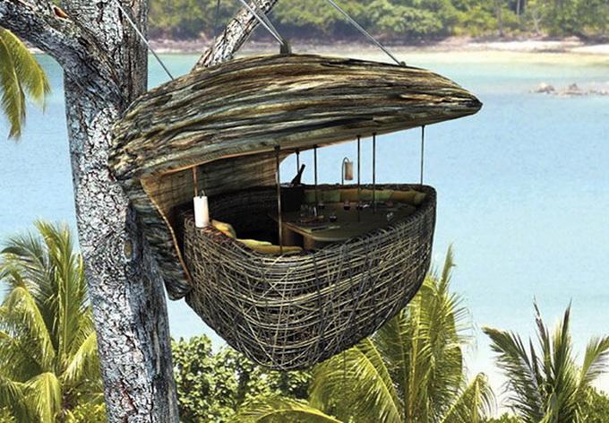 Ресторан на деревах в Таїланді (2)