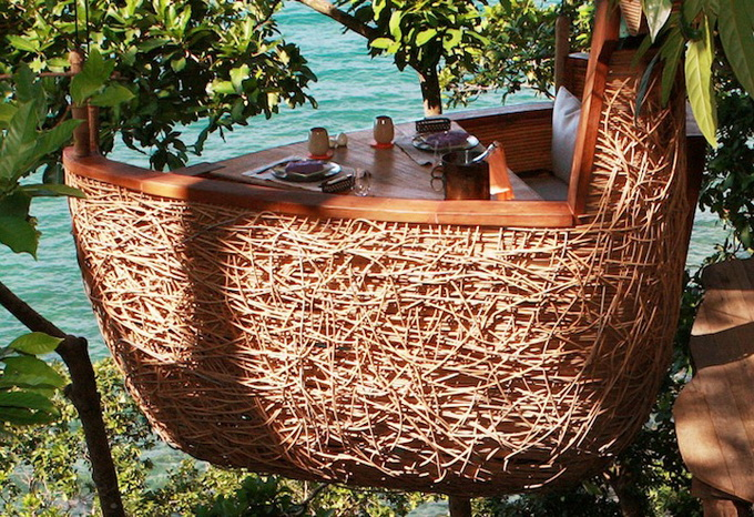 Ресторан на деревах в Таїланді (1)