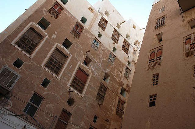 Місто Шибам, найдавніше місто хмарочосів, Ємен (10)