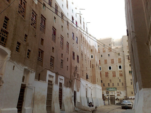 Місто Шибам, найдавніше місто хмарочосів, Ємен (9)