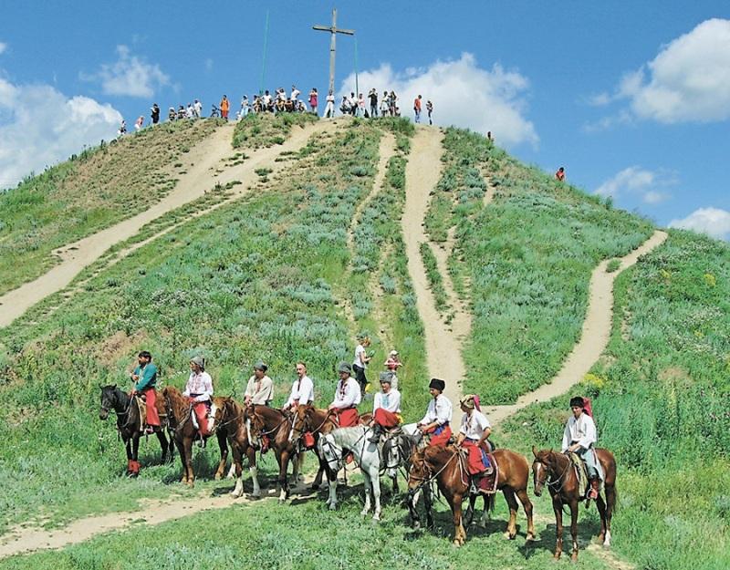 Козаки на Хортиці фото: kiev.fotki.jandex.ru