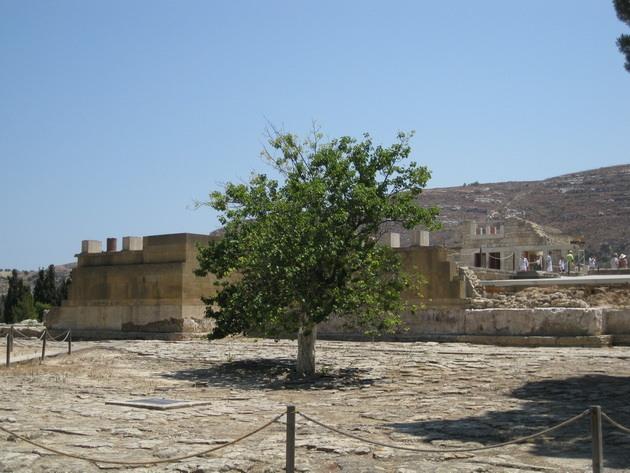 Палац царя Міноса Крит. Кносський палац - руїни величної споруди на острові Крит (16)
