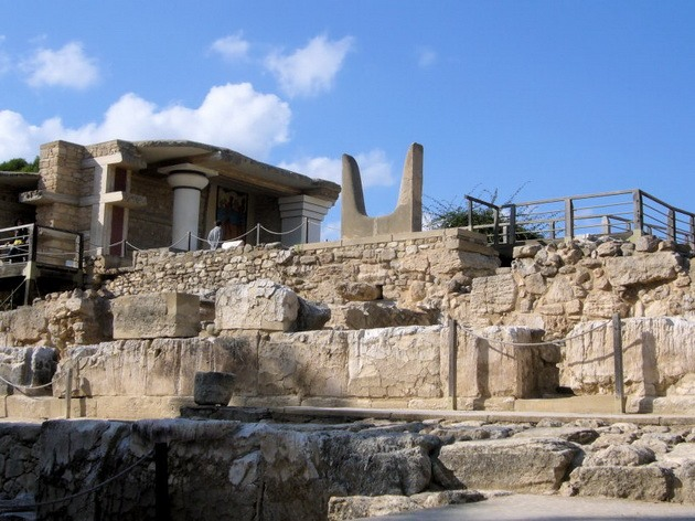 Палац царя Міноса Крит. Кносський палац - руїни величної споруди на острові Крит (15)