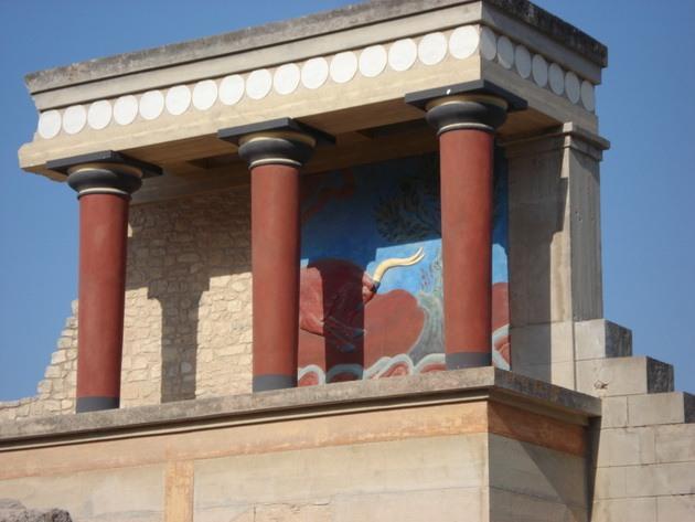 Палац царя Міноса Крит. Кносський палац - руїни величної споруди на острові Крит (14)