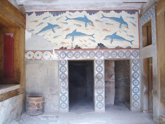 Палац царя Міноса Крит. Кносський палац - руїни величної споруди на острові Крит (13)
