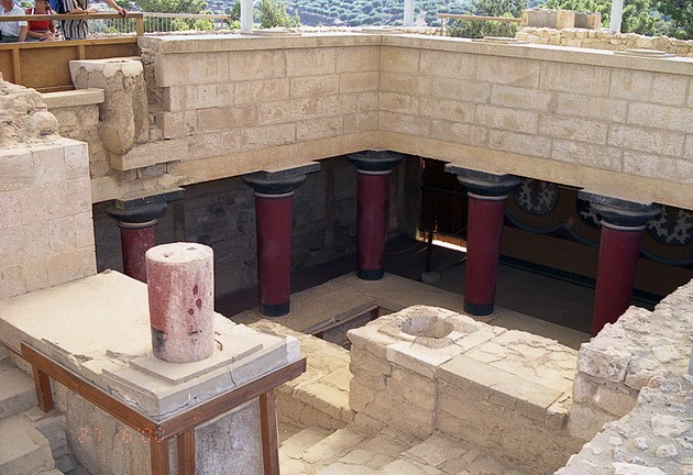 Палац царя Міноса Крит. Кносський палац - руїни величної споруди на острові Крит (11)