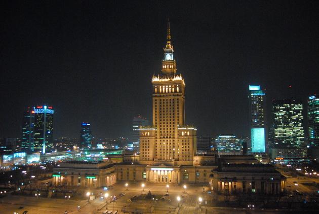Палац Культури і Науки у Варшаві (1)