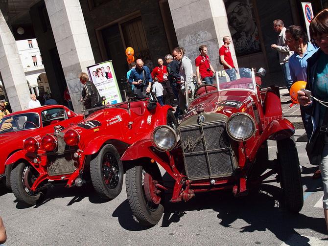 Mille Miglia 2012 - фестиваль старовинних автомобілів (23)