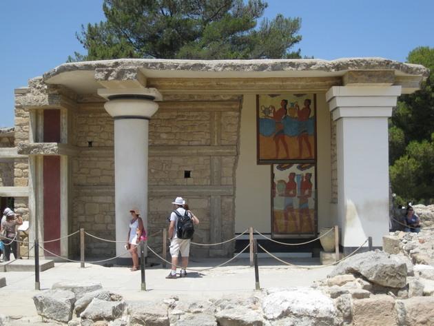 Палац царя Міноса Крит. Кносський палац - руїни величної споруди на острові Крит (8)