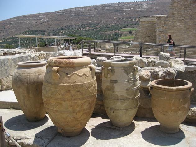Палац царя Міноса Крит. Кносський палац - руїни величної споруди на острові Крит (7)