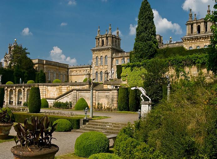 Дивовижний палац Бленхейм, родовий маєток герцогів Мальборо (5)