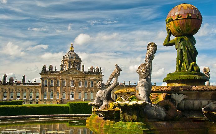 Касл-Ховард, або Замок Говардів, вважається самим пишним палацом Великобританії (6)