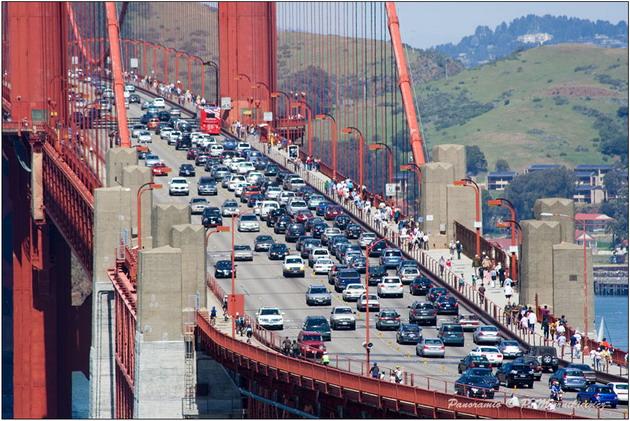 Міст «Золоті Ворота» візитка картка США та символ Сан-Франциско (3)