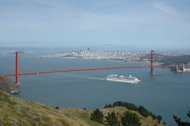 Міст «Золоті Ворота» візитка картка США та символ Сан-Франциско (7)