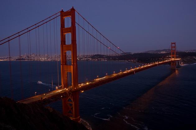 Міст «Золоті Ворота» візитка картка США та символ Сан-Франциско (6)