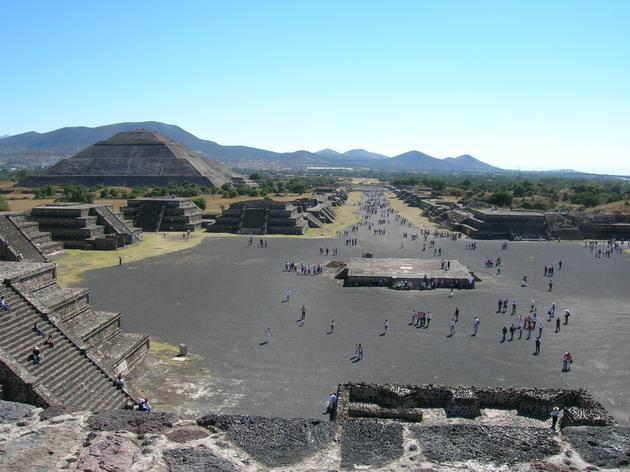 Теотіуакан - загадкове місто стародавнього світу, де люди стають богами (9)