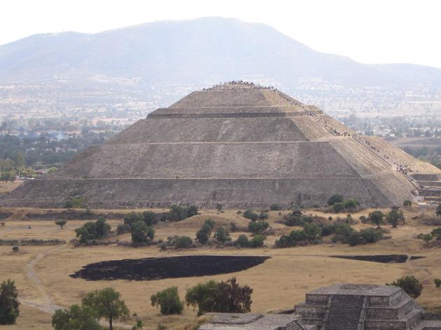 Теотіуакан - загадкове місто стародавнього світу, де люди стають богами (8)