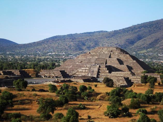 Теотіуакан - загадкове місто стародавнього світу, де люди стають богами (15)