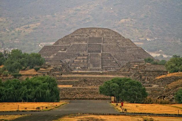 Теотіуакан - загадкове місто стародавнього світу, де люди стають богами (13)